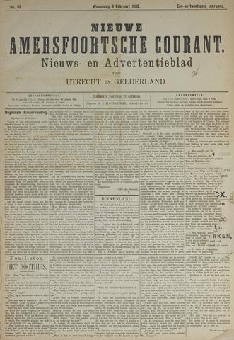 Nieuwe Amersfoortsche Courant 1892-02-03