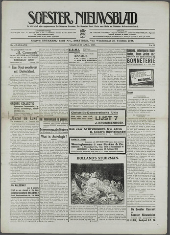 Soester Courant 1939-04-14