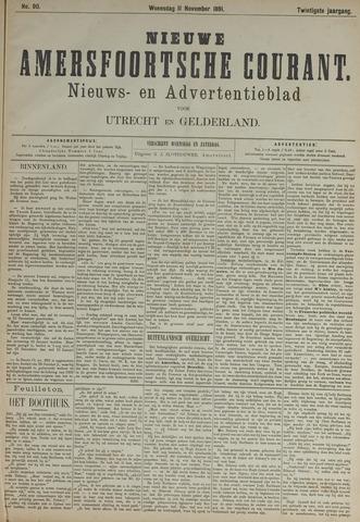 Nieuwe Amersfoortsche Courant 1891-11-11