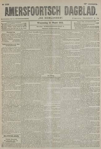 Amersfoortsch Dagblad / De Eemlander 1915-03-31