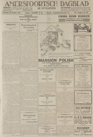 Amersfoortsch Dagblad / De Eemlander 1931-02-28