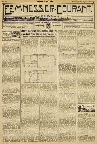 Eemnesser Courant 1924-07-22