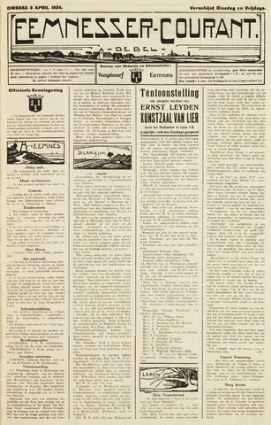 Eemnesser Courant 1924-04-08