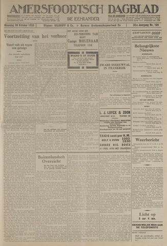 Amersfoortsch Dagblad / De Eemlander 1933-10-30