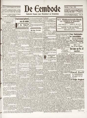 De Eembode 1934-09-04