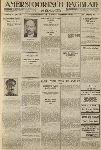 Amersfoortsch Dagblad / De Eemlander 1932-04-06