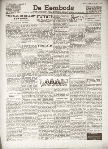 De Eembode 1938-07-09