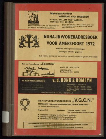 Adresboeken Amersfoort 1972