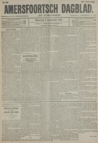 Amersfoortsch Dagblad / De Eemlander 1915-09-06