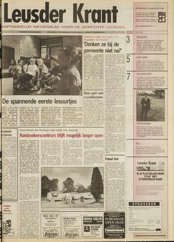 Leusder Krant 1991-08-21