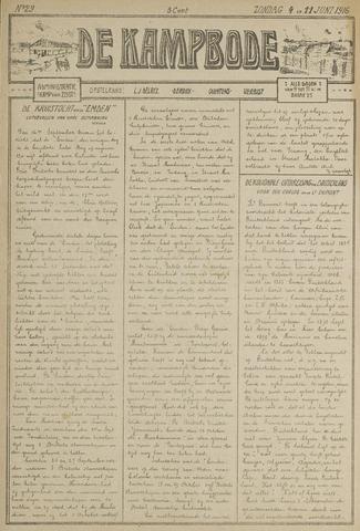 De Kampbode 1916-06-04