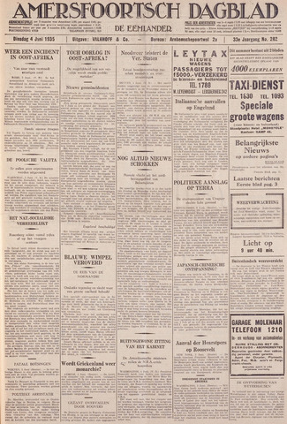 Amersfoortsch Dagblad / De Eemlander 1935-06-04