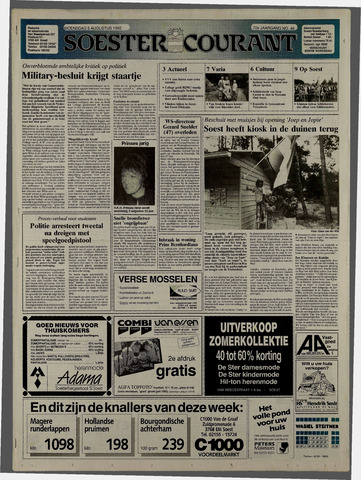 Soester Courant 1992-08-05