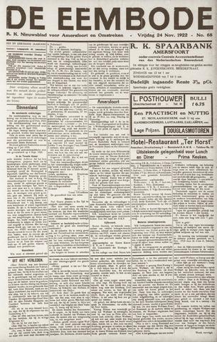 De Eembode 1922-11-24