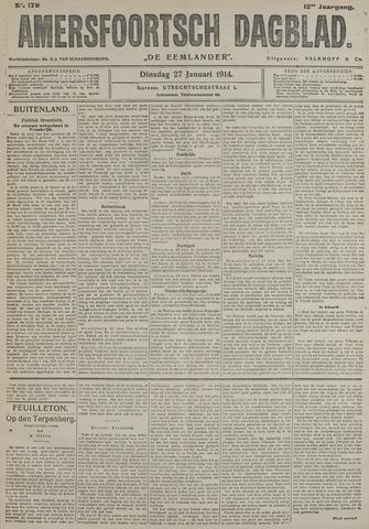 Amersfoortsch Dagblad / De Eemlander 1914-01-27