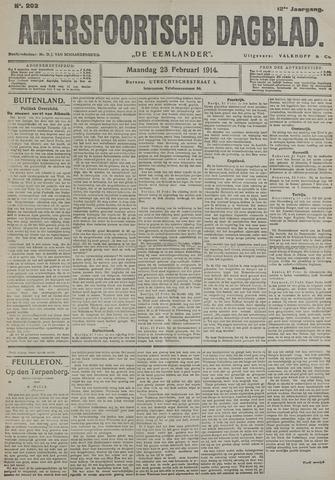 Amersfoortsch Dagblad / De Eemlander 1914-02-23