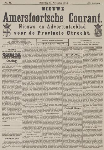 Nieuwe Amersfoortsche Courant 1914-11-21