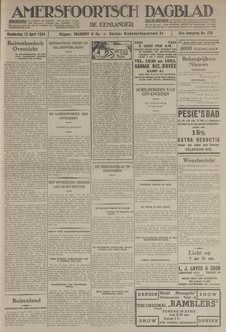 Amersfoortsch Dagblad / De Eemlander 1934-04-12