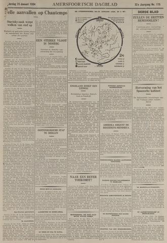 Amersfoortsch Dagblad / De Eemlander 1934-01-25