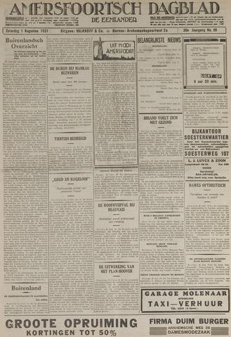 Amersfoortsch Dagblad / De Eemlander 1931-08-01