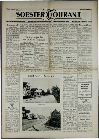 Soester Courant 1966-04-22