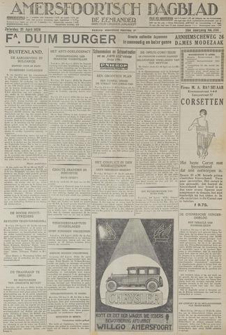 Amersfoortsch Dagblad / De Eemlander 1928-04-21
