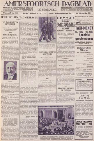 Amersfoortsch Dagblad / De Eemlander 1935-06-05