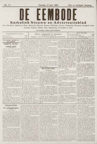 De Eembode 1909-06-12