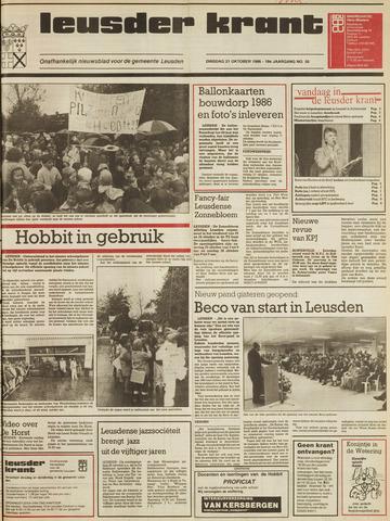 Leusder Krant 1986-10-21