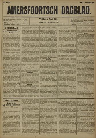 Amersfoortsch Dagblad 1912-04-05