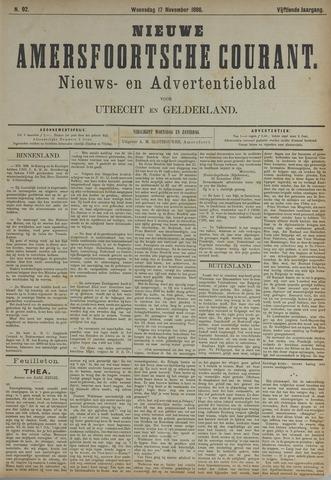 Nieuwe Amersfoortsche Courant 1886-11-17