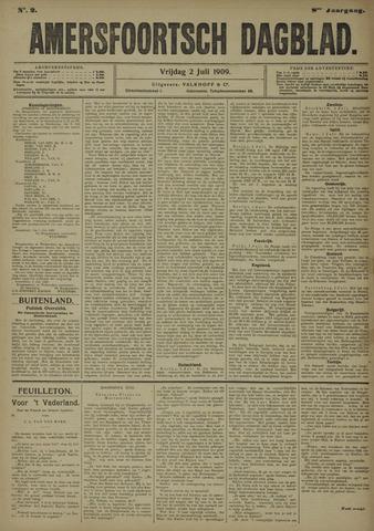 Amersfoortsch Dagblad 1909-07-02