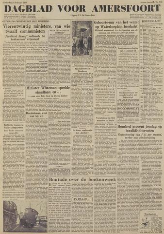Dagblad voor Amersfoort 1948-02-26