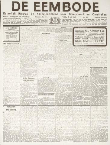 De Eembode 1916-07-07
