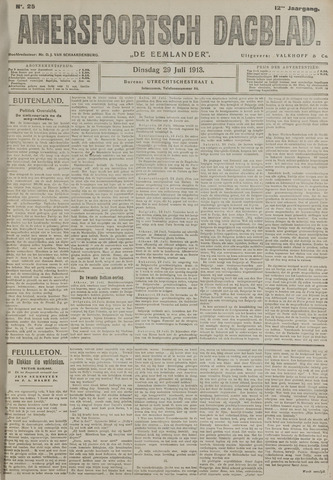 Amersfoortsch Dagblad / De Eemlander 1913-07-29