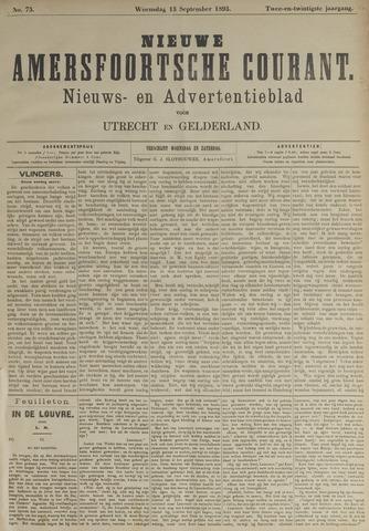 Nieuwe Amersfoortsche Courant 1893-09-13