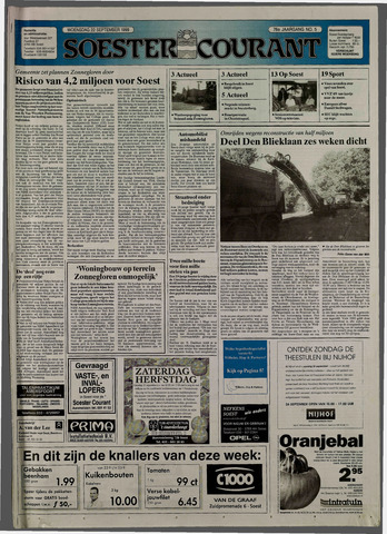 Soester Courant 1999-09-22
