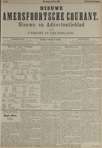 Nieuwe Amersfoortsche Courant 1885-07-29