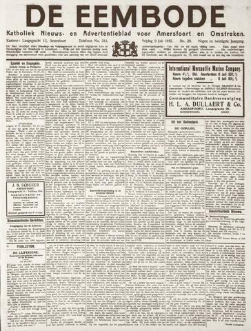 De Eembode 1915-07-09