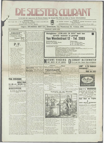 Soester Courant 1938-04-01