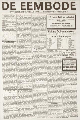 De Eembode 1921-08-12