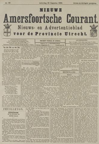 Nieuwe Amersfoortsche Courant 1908-08-22