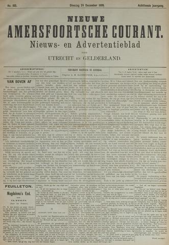 Nieuwe Amersfoortsche Courant 1889-12-24