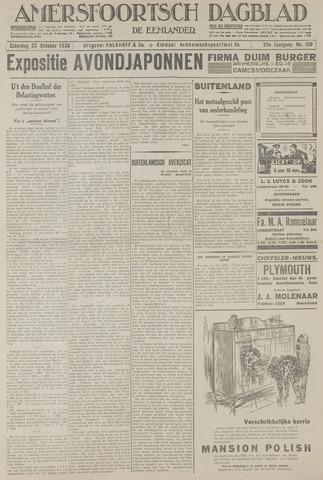 Amersfoortsch Dagblad / De Eemlander 1930-10-25