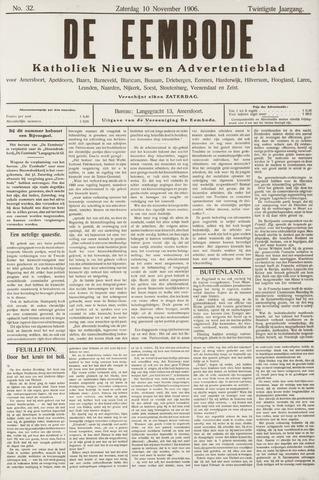 De Eembode 1906-11-10