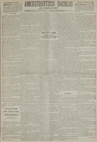 Amersfoortsch Dagblad / De Eemlander 1918-02-18