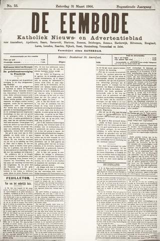 De Eembode 1906-03-31
