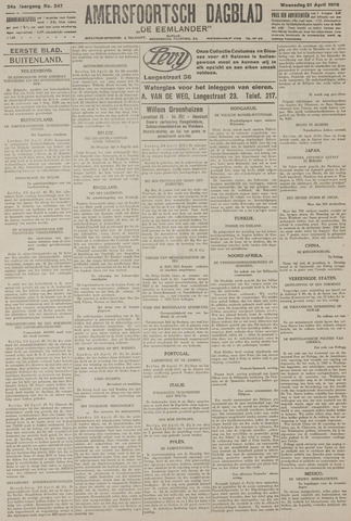 Amersfoortsch Dagblad / De Eemlander 1926-04-21