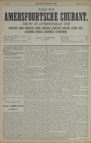 Nieuwe Amersfoortsche Courant 1884-02-23