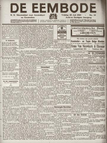 De Eembode 1924-07-25